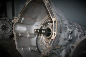 Closeup picture of transmission